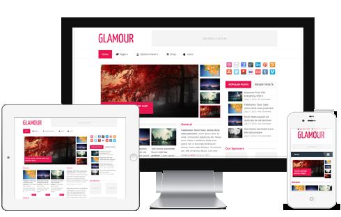Glamour WordPress Theme Review - WP Themes Advisor 2018